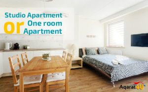 Studio Apartment or One Room Apartment?