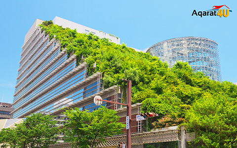 المباني الخضراء
