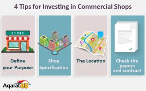 4 Tips for Investing in Commercial Shops