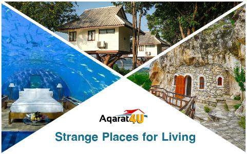 Strange Places for Living